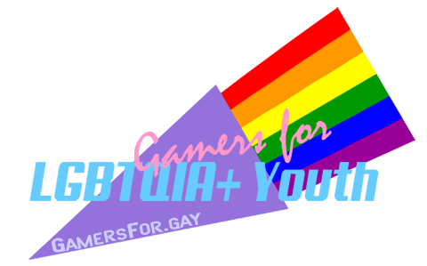 Gamers for LGBTQIA+ Youth logo